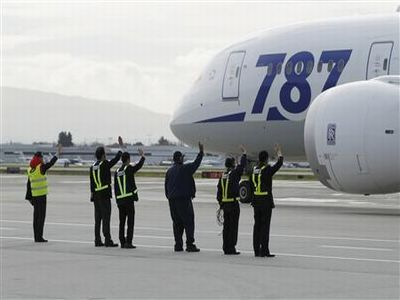 Most Boeing Dreamliners grounded for battery checks